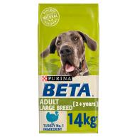 BETA Turkey Large Breed Adult Dog Food 14kg