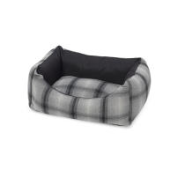 House of Paws Grey Tweed Water Resistant Dog Bed