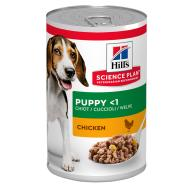 Hills Science Plan Medium Breed Puppy Chicken Wet Dog Food 370g x 12