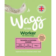 Wagg Worker Salmon & Chicken Wet Dog Food