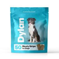 Dylan Meaty Strips Dog Treat