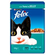 Felix Original Tuna in Jelly Cat Food 100g x 20