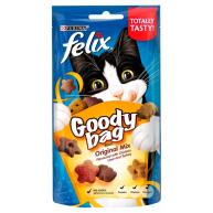Felix Goody Bag Cat Treats Original Mix 60g - 8 Pack Saver Deal