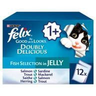 Felix As Good As It Looks Doubly Delicious Fish Cat Food 100g x 12