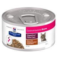 Hills Prescription Diet Gastrointestinal Biome Chicken & Vegetable Stew Wet Adult Cat Food 82g x 24