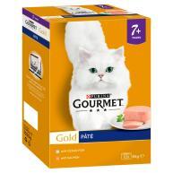 Gourmet Gold Pate Selection Senior Cat Food 85g x 12