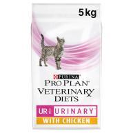 PURINA VETERINARY DIETS Feline UR Urinary Formula Cat Food Chicken 5kg