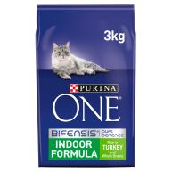 Purina ONE Turkey Indoor Adult Cat Food 3kg