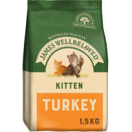 James Wellbeloved Turkey Kitten Food 1.5kg