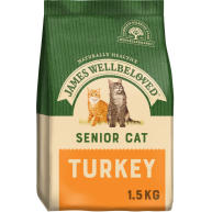 James Wellbeloved Turkey Senior Cat Food 1.5kg
