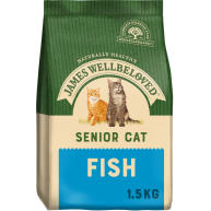 James Wellbeloved Fish Senior Cat Food 1.5kg
