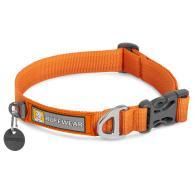 Ruffwear Front Range Dog Collar in Campfire Orange