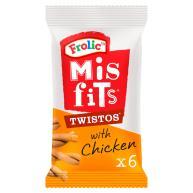 Misfits Twistos Chicken Dog Treats 105g