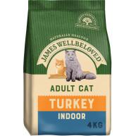 James Wellbeloved Indoor Turkey Adult Cat Food 4kg
