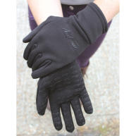 Mark Todd Black Winter Grip Fleece Gloves