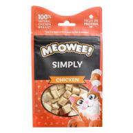 Meowee Simply Chicken Cat Treats 10g