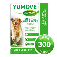 Yumove Joint Support Dog Tablets 300 Tablets