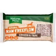 Natures Menu Free Flow Chicken & Tripe Raw Frozen Dog Food 2kg