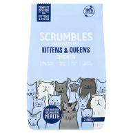 Scrumbles Chicken Kittens & Queens Dry Cat Food