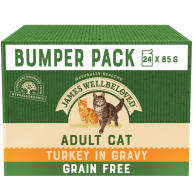 James Wellbeloved Grain Free Turkey Adult Cat Pouches
