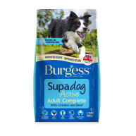 Burgess Supadog Complete Active Chicken & Beef Adult Dog Food