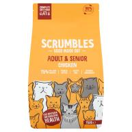 Scrumbles Chicken Adult & Senior Dry Cat Food 750g