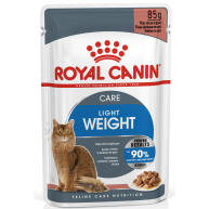 Royal Canin Ultra Light Care in Gravy Adult Wet Cat Food 85g x 12