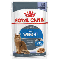 Royal Canin Ultra Light Care in Jelly Adult Wet Cat Food 85g x 12