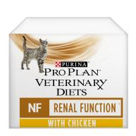 PRO PLAN VETERINARY DIETS Feline NF Renal Function Cat Food 85g x 80 Pouches with Chicken
