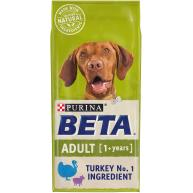 BETA Turkey & Lamb Dry Adult Dog Food 14kg
