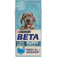 BETA Turkey Large Breed Dry Puppy Food 14kg