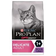 PRO PLAN OPTIDIGEST Turkey Delicate Adult Dry Cat Food