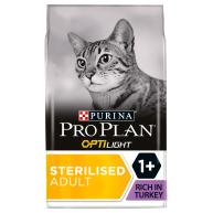 PRO PLAN OPTILIGHT Turkey Dry Adult Cat Food