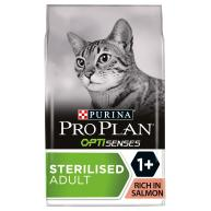 PRO PLAN OPTISENSES Sterilised Salmon Adult Dry Cat Food