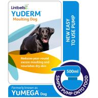 YuDERM Moulting Dog Skin & Coat Supplement