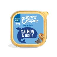 Edgard & Cooper Salmon & Trout Grain Free Wet Adult Dog Food 150g x 11