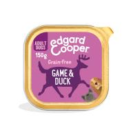 Edgard & Cooper Game & Duck Grain Free Trays Wet Adult Dog Food 150g x 11