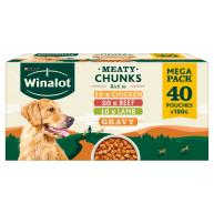 Winalot Meaty Chunks Mixed in Gravy Wet Adult Dog Food