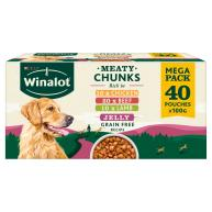Winalot Meaty Chunks Mixed in Jelly Wet Adult Dog Food