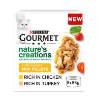 Gourmet Natures Creations Poultry Mini Fillets Wet Adult Cat Food