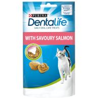 Dentalife Salmon Adult Cat Treats 40g