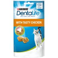 Purina Dentalife Chicken Adult Cat Treats 140g Pack
