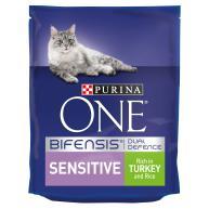 Purina ONE Turkey & Rice Sensitive Adult Cat Food