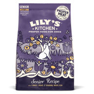 Lilys Kitchen Senior Recipe Turkey & Trout Complete Dry Food for Dogs