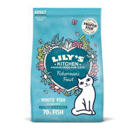 Lilys Kitchen Fabulous Fishermans Feast Complete Adult Cat Food 2kg