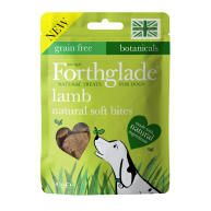 Forthglade Natural Soft Bites Lamb Dog Treats 90g