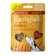 Forthglade Natural Soft Bites Turkey Dog Treats 90g