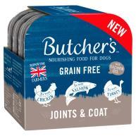 Butchers Joints & Coat Dog Food Trays 150g x 4