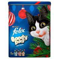 Felix Goody Bag Christmas Tin of Cat Treats