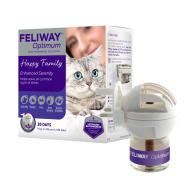 Feliway Optimum Cat Calming Diffuser Starter Pack Plug In with 48ml Vial